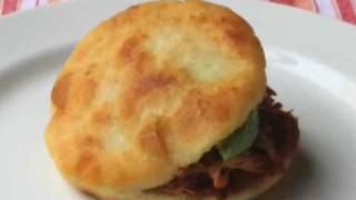 Food Wishes Recipes - How to Make Arepas - Arepas Recipe and Technique - Venezuelan Sandwich thumbnail