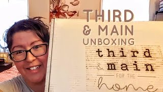 Third & Main Home Decor Subscription Unboxing | June 2017