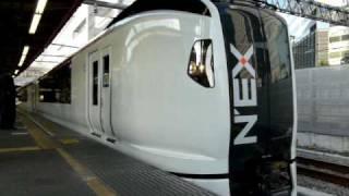 E259系鎌倉車Ne-001+Ne-002編成(公式試運転) 品川 thumbnail