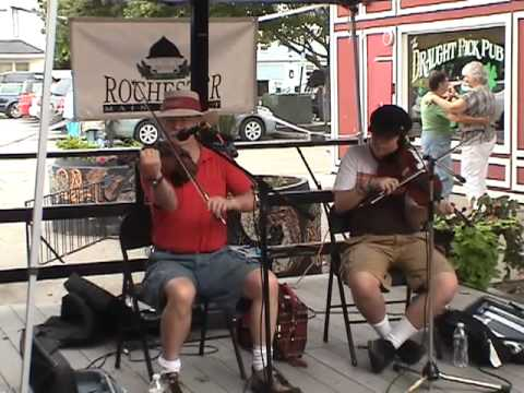 French cajun fiddle - Fiddling Thomsons at Factory Court