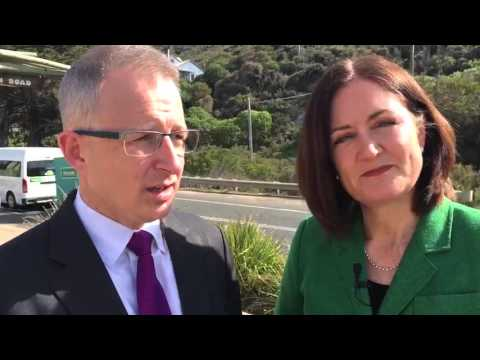 Paul Fletcher speaks with Sarah Henderson MP about the Great Ocean Road