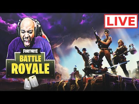 FORTNITE BATTLE ROYALE GAMEPLAY STREAM W/ THE SQUAD! (TOP 5 DEAD OR ALIVE)