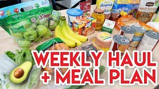 WEEKLY GROCERY HAUL + MEAL PLAN 🤩 SNACK FOOD HAUL AND INSTACART DELIVERY!