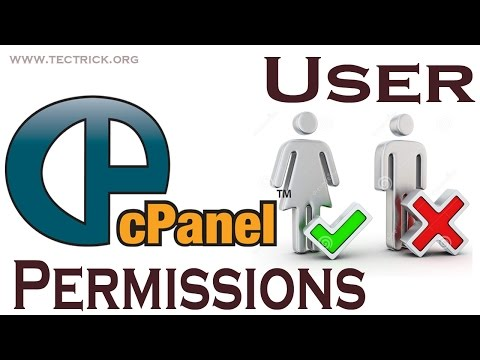 Cpanel - How To change File Permission