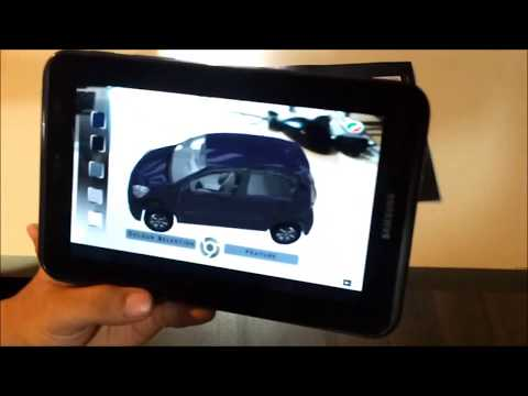myvi phone application (augmented reality)
