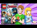 LEGO Marvel's Avengers: FREE ROAM  Showcase (Gaming with The Kwings)