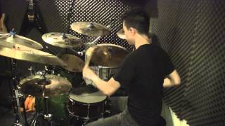 As I Lay Dying - Wasted Words (drum cover) by Wilfred Ho