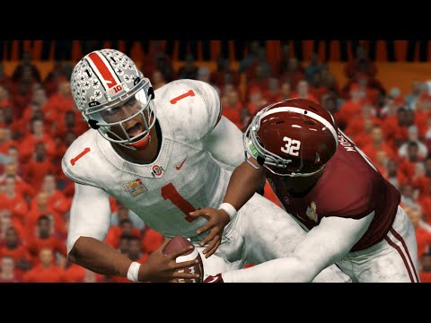 Alabama vs Ohio State | College Football Championship Game 2021 - Crimson Tide vs Buckeyes (NCAA 14)