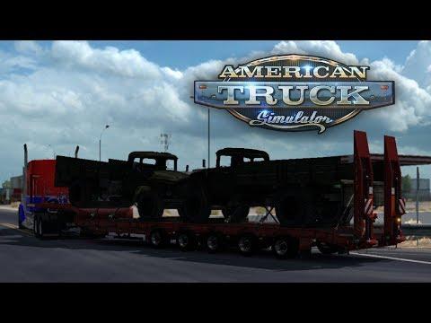 Old Military Supply Trucks to Ehrenberg! American Truck Simulator Mods #46