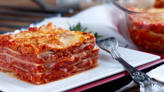 My Vegan Lasagne Recipe by the Vegan Corner