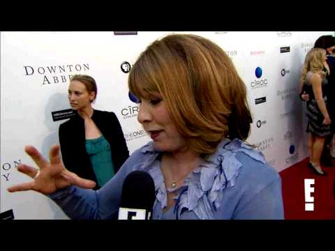 Downton Abbey  Phyllis Logan talks about picture with J.J. Abrams