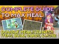 THE COMPLETE GUIDE TO MAXIMIZE HEAL — FULL SUPPORT PRIEST | Ragnarok Mobile Eternal Love