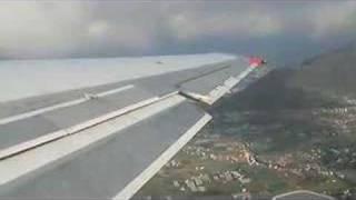 Boeing 717 takeoff from Tenerife Norte, Spain