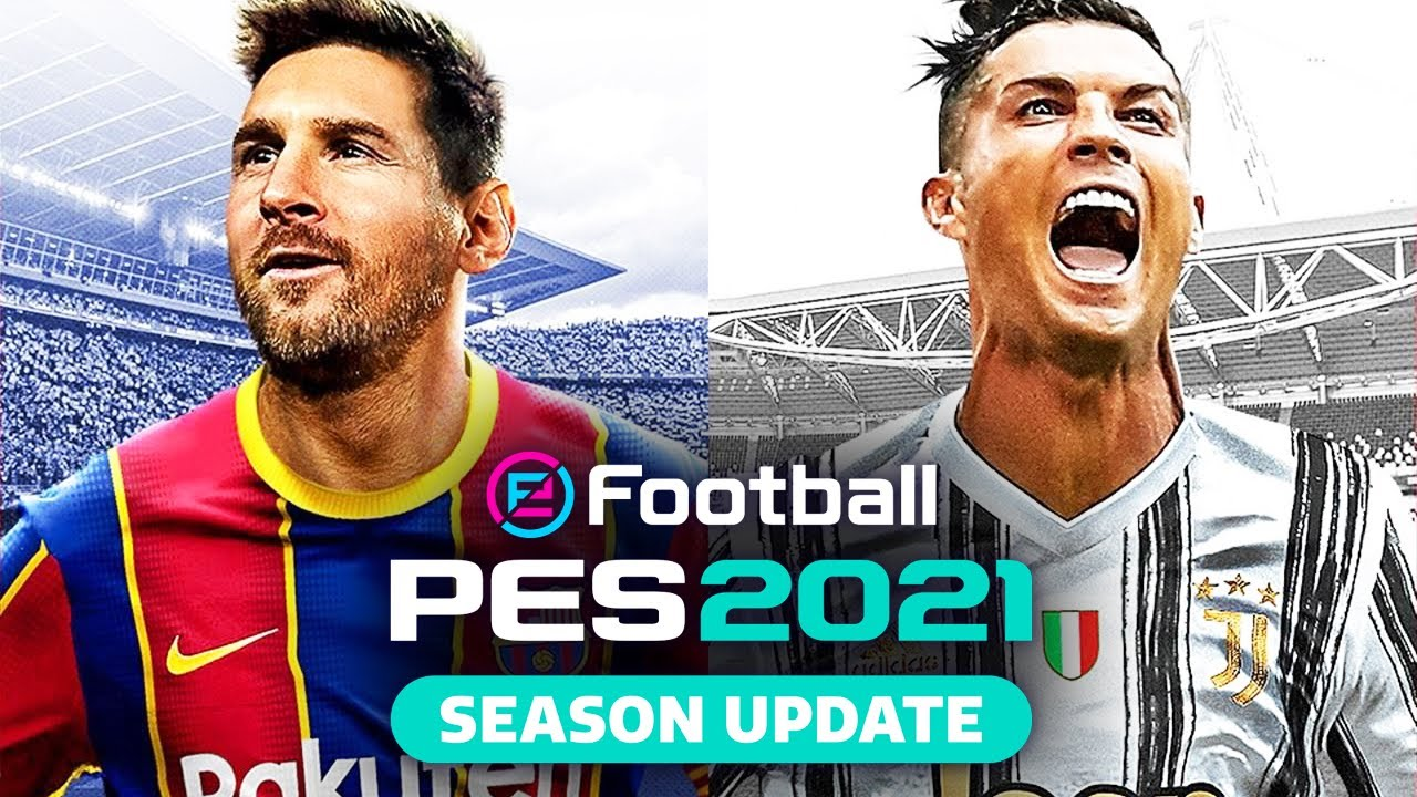 EFOOTBALL PES 2021 - SEASON UPDATE : FLAMENGO, CORINTHIANS, PSG e JUVENTUS.