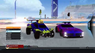 The Duo Take On Rocket League