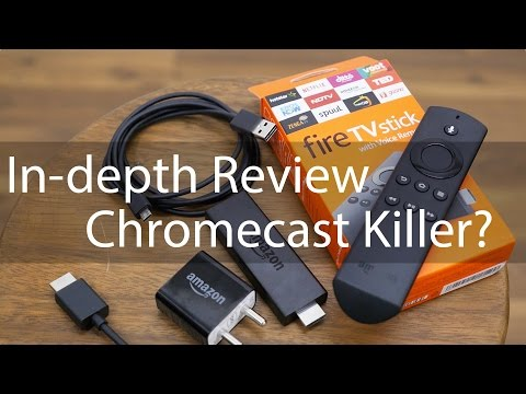 Amazon Fire TV Stick with Voice Review A Chromecast Killer?