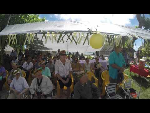 72nd Anniversary Operation Galvanic - On the Island of Butaritari