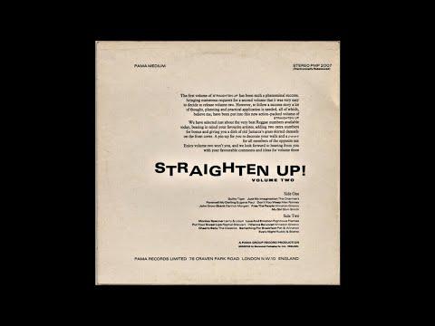Straighten Up! Volume Two - (FULL ALBUM) (1971) REGGAE! ROCKSTEADY! LOVER'S ROCK!!