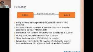 IFRS 3 Business Combinations - by CA Anand Banka