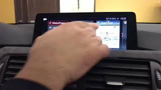 Установили в BMW F30 NBT EVO с тач монитором от BMW F15