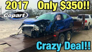 I Bought A Wrecked 2017 Honda Civic For Only $350 From Copart Salvage Auction! Crazy Cheap