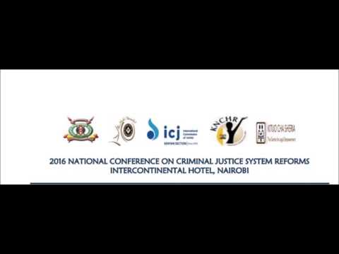 What is our vision for an ideal Criminal Justice System in Kenya? #JusticeSystemKE