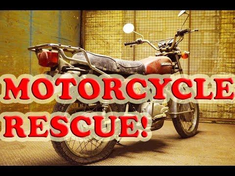 Motorcycle Rescue ADVENTURE in Milwaukee - CL360 Scrambler