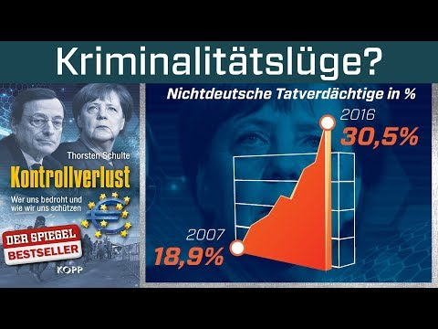 Kriminalitätslüge? Bundesinnenminister Thomas de Maizière im Faktencheck. Fake News? Lügenpresse?