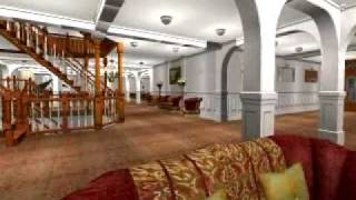 TITANIC Sims2 HD  Grand-Staircase