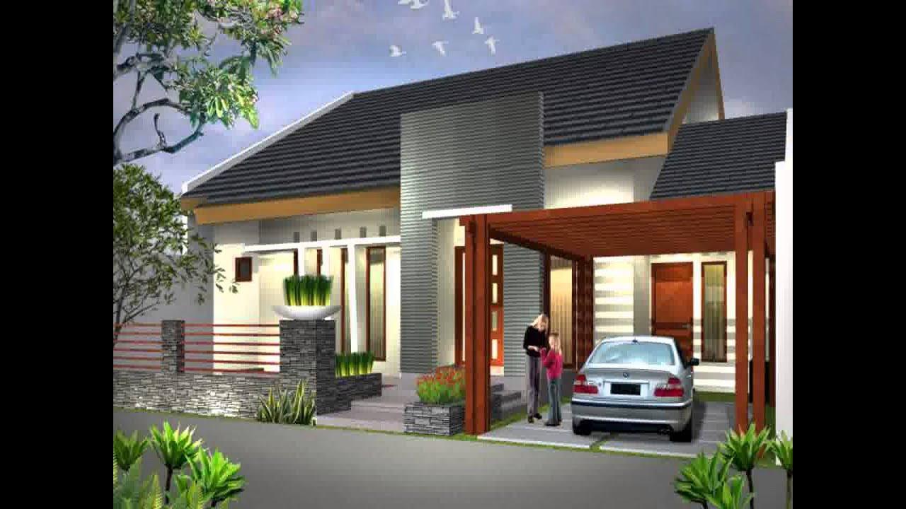 Model Rumah Minimalis Pake Batu Alam