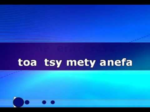 Eto Am-bavaravankely - Alomà KARAOKE