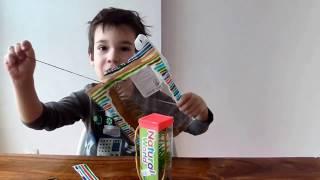 распаковка игрушек: гигантская сколопендра игрушка и морские животные
