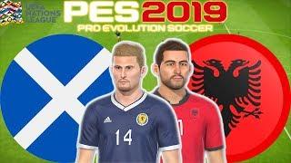 Scotland vs Albania Prediction | UEFA Nations League 10 Sept 2018 | PES 2019 Gameplay