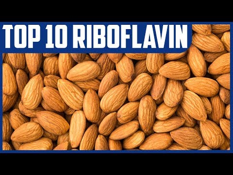 Top 10 Natural Dietary Sources of Riboflavin (Vitamin B2)