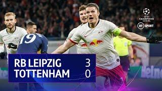 RB Leipzig vs Tottenham (3-0) | UEFA Champions League highlights