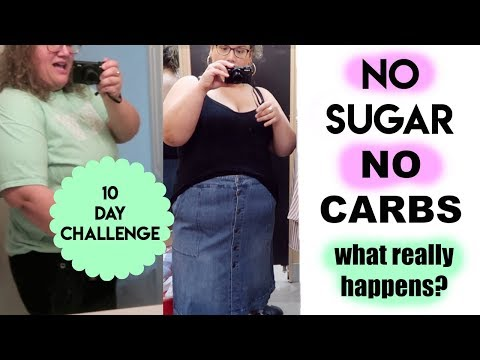I Tried Eating No Sugar No Carbs for 10 Days and HERE'S WHAT HAPPENED