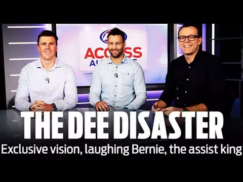 Exclusive vision: Dees' disaster dissected: Access All Areas | Round 18, 2018 | AFL