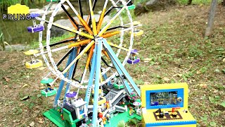 LEGO Ferris Wheel (RC motorized version) - lego 10247 review by 뿡대디