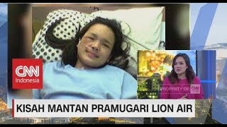 Kisah Laura Lazarus, Mantan Pramugari Lion Air