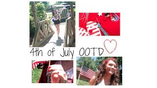 Fourth of July 2014 OOTD Lookbook!! Thumbnail