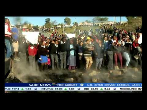 Service delivery protest in Zebediela, Limpopo
