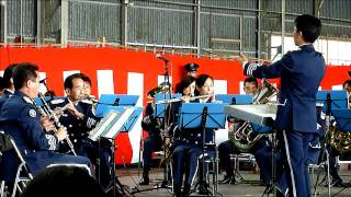 浜松エアフェスタ2010 中部航空音楽隊.