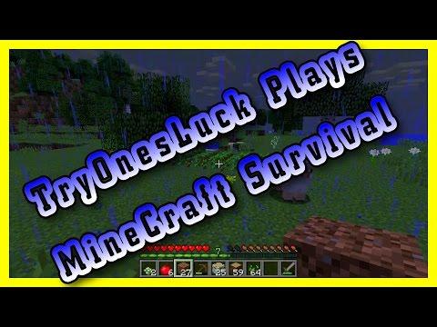 TryOnesLuck - Minecraft Survival - Snapshot 18w07c
