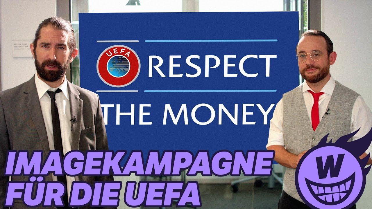 Image-Kampagne für die UEFA