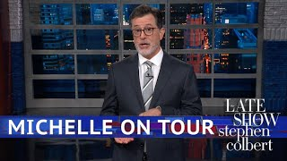 Michelle Obama Goes On Tour, Rock Star Style