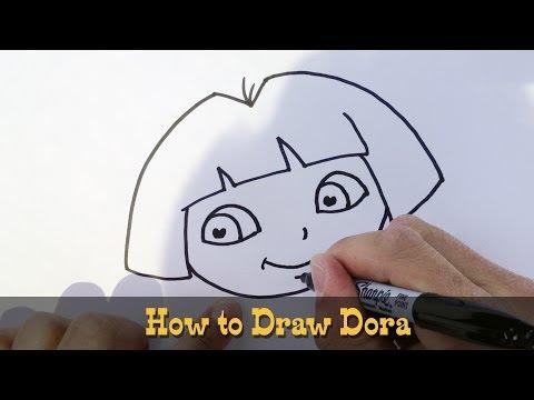 How to Draw Dora the Explorer