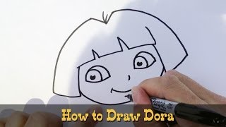 How to Draw Dora the Explorer