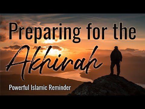 PREPARING FOR THE AKHIRAH- Sh. Suleiman Hani - Islamic Reminder - (English)