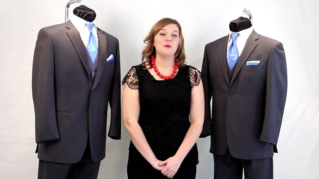 Wedding Tuxedos and Suits: What\'s the Difference? - YouTube