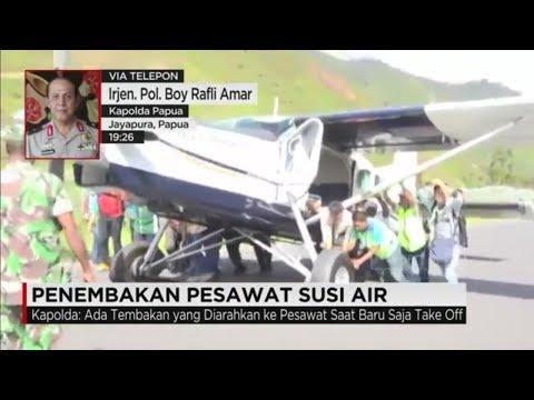 Pesawat Susi Air Ditembak di Puncak Jaya